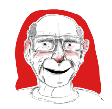 Old man the sketch by thaynaitor
