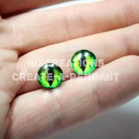 10mm Glass Eyes for Jewelry by Create-A-Pendant