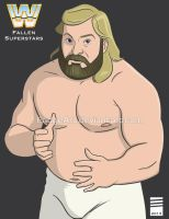 WWE Fallen Superstars: Big John Studd by EadgeArt