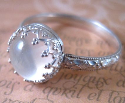 Moon Child Ring by sparkfairy