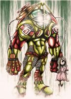 Big Daddy and Little Sister by Ricsnake