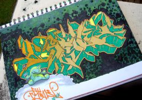 CStyle.Green-N-Gold by c0nr4d
