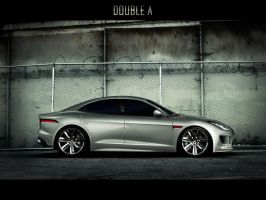 "Jaguar CX16 ""ghost"" by doubleart"