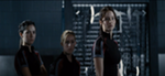 Katniss, Clove, and District 7 in Training by KestrelStarYT