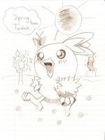 Spring time Torchic by KitsPokePeople