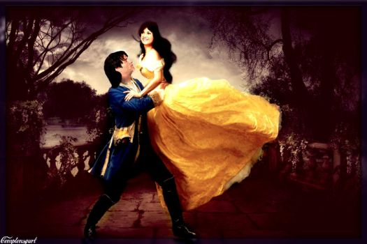 Bill and Sookie~Beauty and the Beast by Childoftheflower