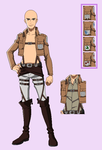 BASE 71 - Attack on Titan uniform - older male ver by Rainfall-Bases