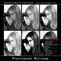 Black and White Pro Pack v001 by andreat1508