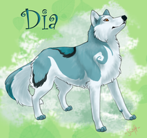 Fanart - Dia by swift-whippet