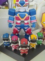 Flash king papercraft by EOTTTSSS