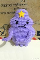 Lumpy Space Princess Amigurumi by yimtea