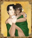 Contest-Entry: Ebonnee and Levi by HannaEsser