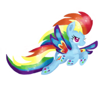 RainbowPowerRainbowDash by ChiuuChiuu