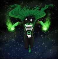 Green lantern : The Starheart connection by AntiReaper