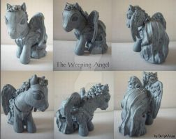 My little Pony Custom Doctor Who Weeping by BerryMouse