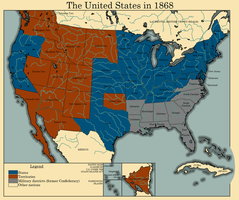 The United States in 1868 by TheAresProject