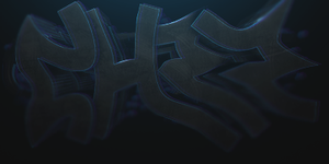 cHrr in graffiti letters by CheckeredStuffGFX
