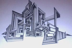 Doodle City (Straight Lines) by doodle-my-noodle
