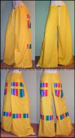 Rainbow Rave Phat Lounge Pants by RedheadThePirate