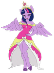 Princess twilight sparkle by nirac