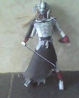 ichigo hollow - bleach papercraft by turtwigcuTey