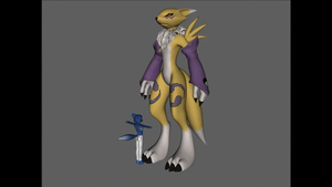Renamon and the Unsuspecting Micro? by nintendo1889m