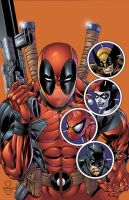 Deadpool 87 colors by seanforney