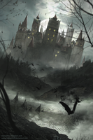 Dark Castle by HeliacWolf