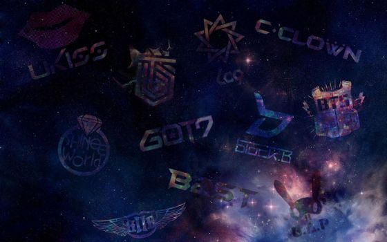 Galaxies Background for their Tumblr~ by BaekXiaoXing