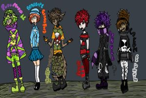 ---A Paranormal Line Up--- by Rockerchick22