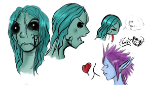 The Undead and..a troll by Kanellaz