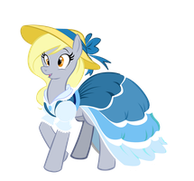 Derpys  NEW DRESS by MoostarGazer