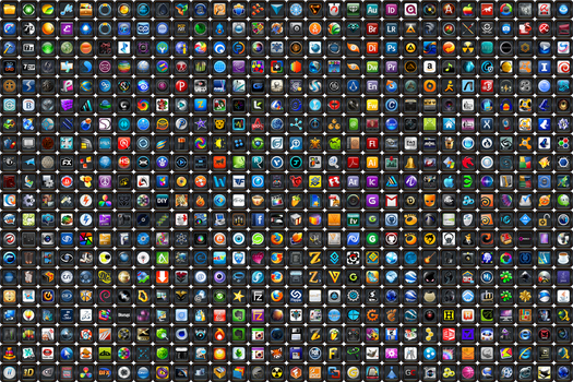 Blackalicious Icon Pack - PNG by llexandro