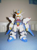 SD Strike Freedom Papercraft 1 by v2gundam