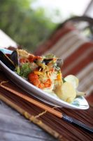 Thai Seafood Noodles (2) by laurenjacob
