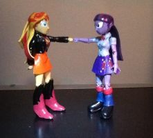 Fist/Hoove Bump by ArtKing3000