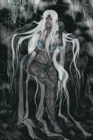 Collab : The Ice Queen- Kanuka by Hieyizar