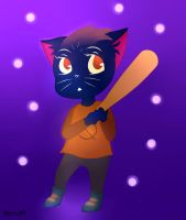 Night In The Woods - Margaret Borowski by Sinthatcannotbepaid