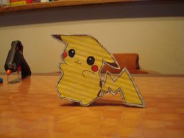 Pikachu standing with tail by tinani81600
