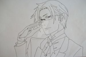 """Yes, Your Highness"" Claude Faustus by SakakiTheMastermind"