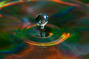Water Droplet 2 by Foxseye