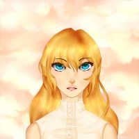 Semi Realistic Akina by RiddleMaker