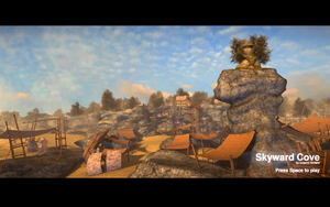 Skyward Cove: Title Screen by garmee