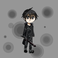 AT : Kirito by xMizzPrettyx