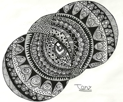 Zentangle NO.6 by smileyface001