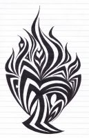 Chalice of fire tribal by Ashlo4