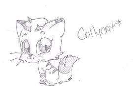 Hows bout another Chibi Callycat by applehead302