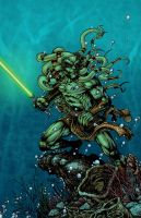 Kit Fisto colors by seanforney