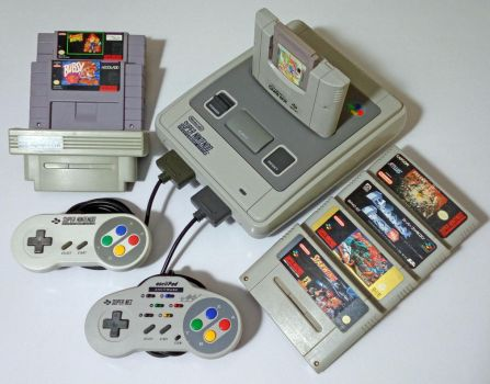 The Super Nintendo collection. by GrimShady