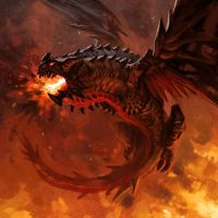 Dragon From Hell by Haelsing